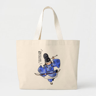 It is difficult a u English story Nikko Toshogu Large Tote Bag