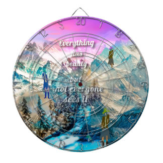 It is difficult to understand everything dartboard