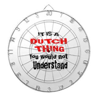 IT IS DUTCH THING DESIGNS DARTBOARD