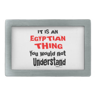 IT IS EGYPTIAN THING DESIGNS BELT BUCKLE