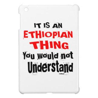IT IS ETHIOPIAN THING DESIGNS iPad MINI COVERS