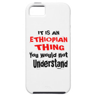 IT IS ETHIOPIAN THING DESIGNS iPhone 5 COVERS