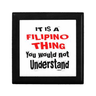 IT IS FILIPINO THING DESIGNS GIFT BOX