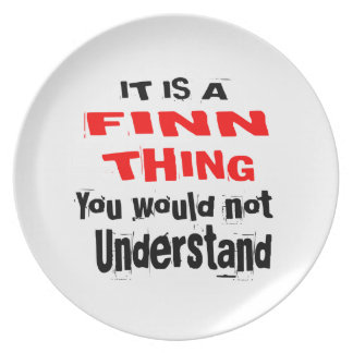 IT IS FINN THING DESIGNS PLATE