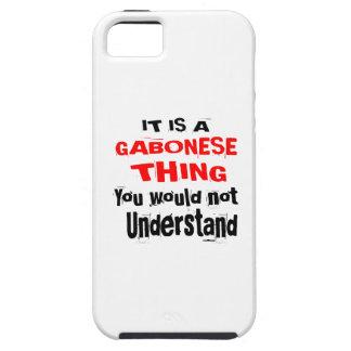 IT IS GABONESE THING DESIGNS iPhone 5 CASE