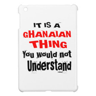 IT IS GHANAIAN THING DESIGNS COVER FOR THE iPad MINI