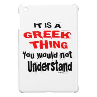 IT IS GREEK THING DESIGNS iPad MINI COVERS