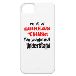 IT IS GUINEAN THING DESIGNS BARELY THERE iPhone 5 CASE