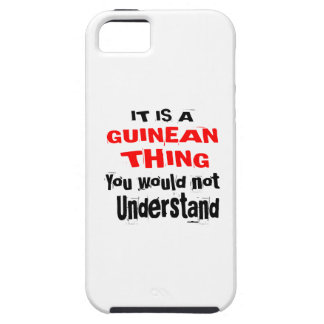IT IS GUINEAN THING DESIGNS iPhone 5 COVERS