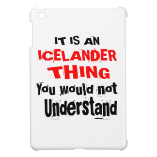 IT IS ICELANDER THING DESIGNS iPad MINI CASES