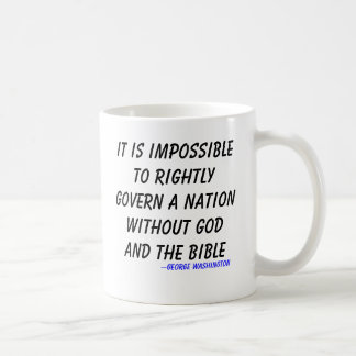 It is impossible to rightly govern a nation wit... coffee mug