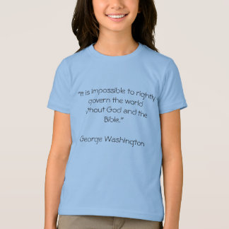 """It is impossible to rightly govern the world w... T-Shirt"