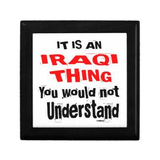 IT IS IRAQI THING DESIGNS GIFT BOX
