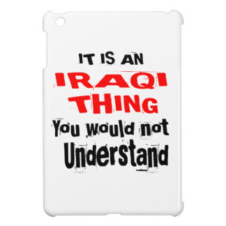 IT IS IRAQI THING DESIGNS iPad MINI CASE