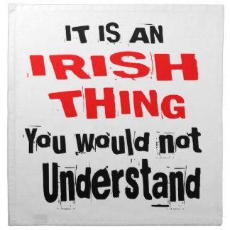 IT IS IRISH THING DESIGNS NAPKIN