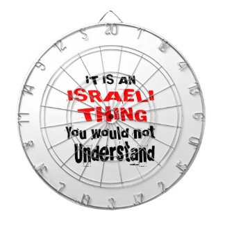 IT IS ISRAELI THING DESIGNS DARTBOARD