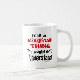 IT IS KAZAKHSTANI THING DESIGNS COFFEE MUG