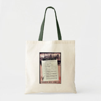 It Is Later Than You Think, Production Drive Commi Canvas Bags