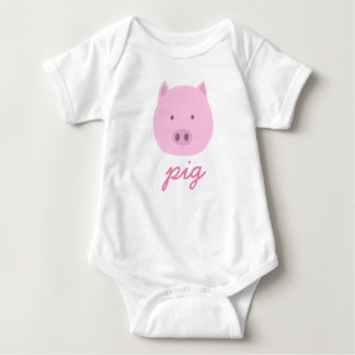 It is lovely the pig baby bodysuit