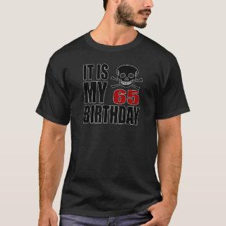 It Is My 65 Birthday Designs T-Shirt