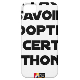IT IS NECESSARY TO KNOW TO ADOPT A CERTAIN TUNA iPhone 5 COVER