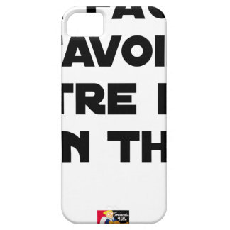 IT IS NECESSARY TO KNOW TO BE OF GOOD TUNA - Word iPhone 5 Cases