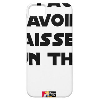 IT IS NECESSARY TO KNOW TO DROP By a TUNA - Word iPhone 5 Cases