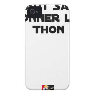 IT IS NECESSARY TO KNOW TO GIVE TUNA - Word games iPhone 4 Case-Mate Cases