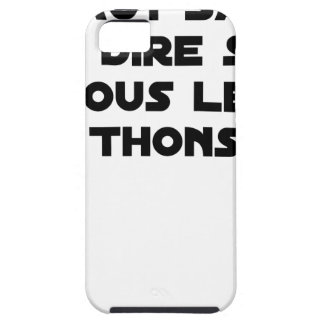 IT IS NECESSARY TO KNOW TO SAY IT ON ALL TUNAS TOUGH iPhone 5 CASE