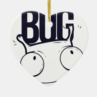 it is not bug  it is feature ceramic ornament