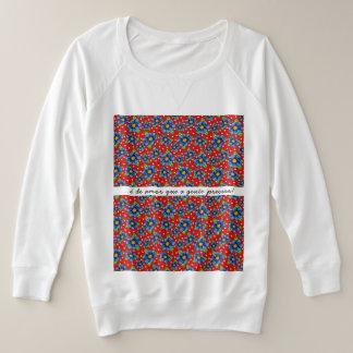 it is of love plus size sweatshirt