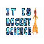 It Is Rocket Science Postcard