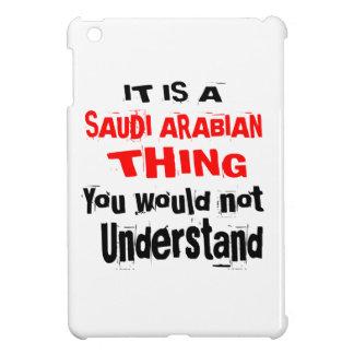 IT IS SAUDI ARABIAN THING DESIGNS iPad MINI COVERS