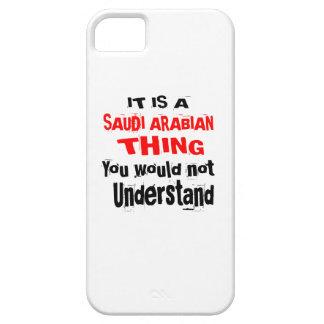 IT IS SAUDI ARABIAN THING DESIGNS iPhone 5 CASE