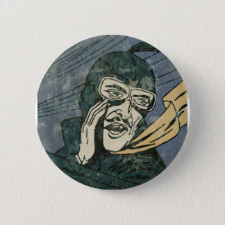 It is secret! 6 cm round badge