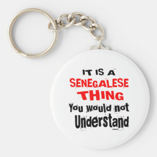 IT IS SENEGALESE THING DESIGNS KEY RING
