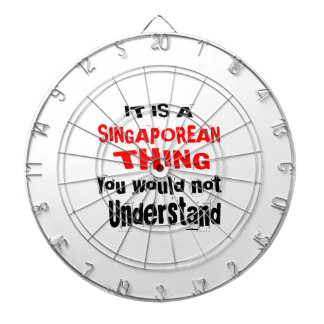 IT IS SINGAPOREAN THING DESIGNS DARTBOARD