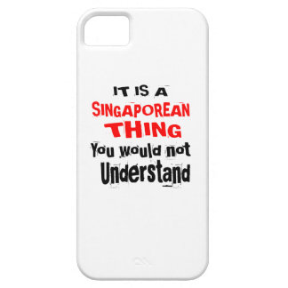 IT IS SINGAPOREAN THING DESIGNS iPhone 5 COVER