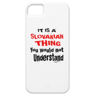 IT IS SLOVAKIAN THING DESIGNS iPhone 5 CASES