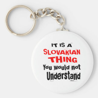 IT IS SLOVAKIAN THING DESIGNS KEY RING