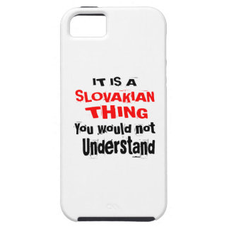 IT IS SLOVAKIAN THING DESIGNS TOUGH iPhone 5 CASE