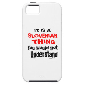 IT IS SLOVENIAN THING DESIGNS iPhone 5 CASE