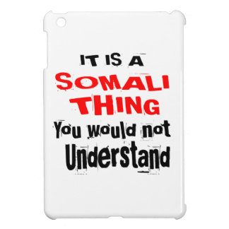 IT IS SOMALI THING DESIGNS iPad MINI COVER