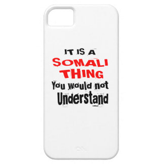 IT IS SOMALI THING DESIGNS iPhone 5 COVER