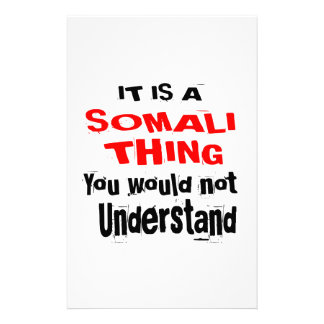 IT IS SOMALI THING DESIGNS STATIONERY