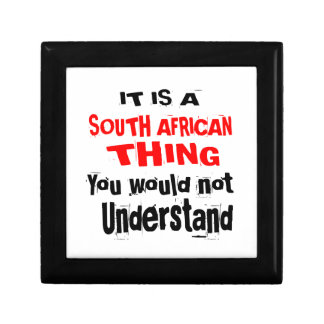 IT IS SOUTH AFRICAN THING DESIGNS GIFT BOX