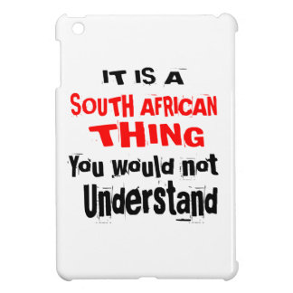 IT IS SOUTH AFRICAN THING DESIGNS iPad MINI CASE