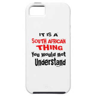 IT IS SOUTH AFRICAN THING DESIGNS iPhone 5 COVER