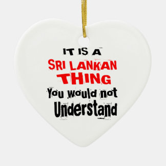 IT IS SRI LANKAN THING DESIGNS CERAMIC ORNAMENT