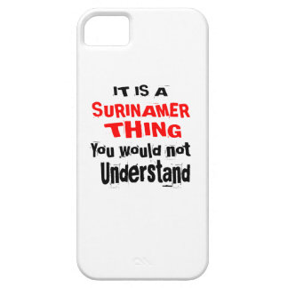 IT IS SURINAMER THING DESIGNS BARELY THERE iPhone 5 CASE